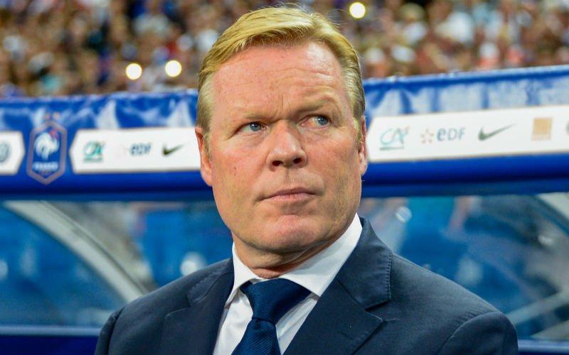 Oranje-bondscoach Ronald Koeman: