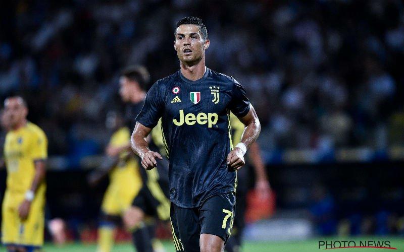 Ronaldo reageert met de voeten en schiet Juve naar de zege