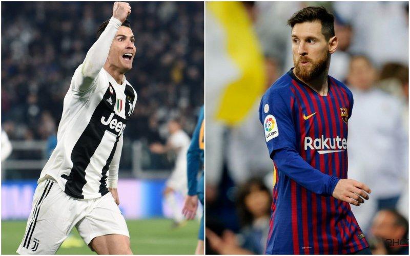 Ronaldo naar Ajax en Messi naar Manchester in kwartfinales Champions League