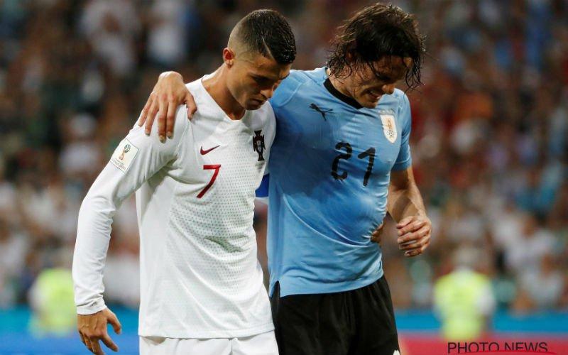 Mist Edinson Cavani de kwartfinale tegen Frankrijk?