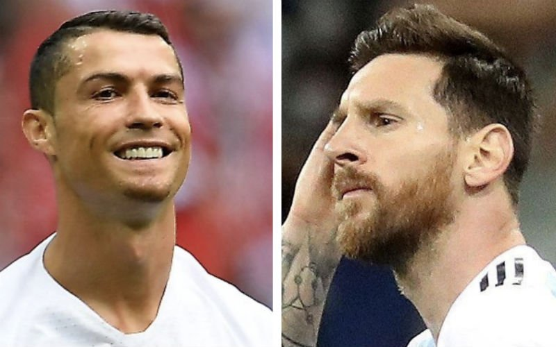 'Cristiano Ronaldo duwt mes nog dieper in de wonde van Lionel Messi'