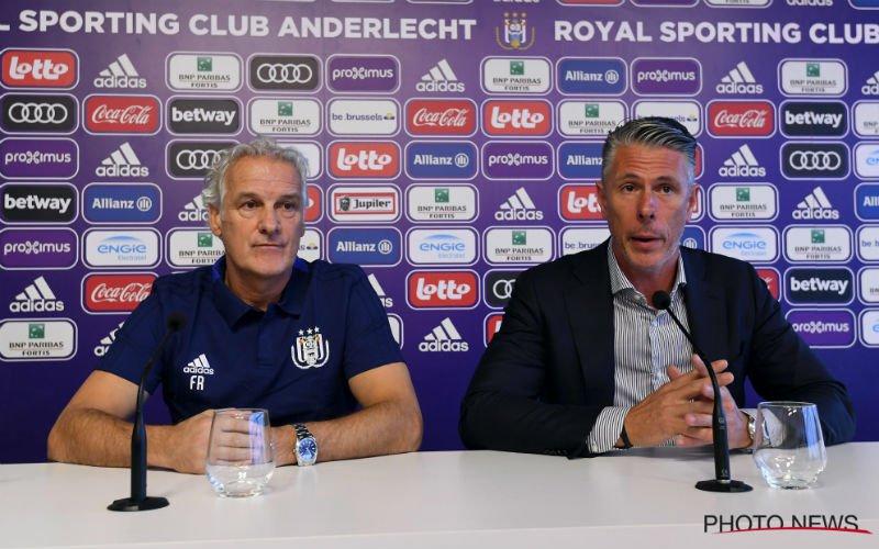 Anderlecht krijgt ernstige waarschuwing over Fred Rutten: