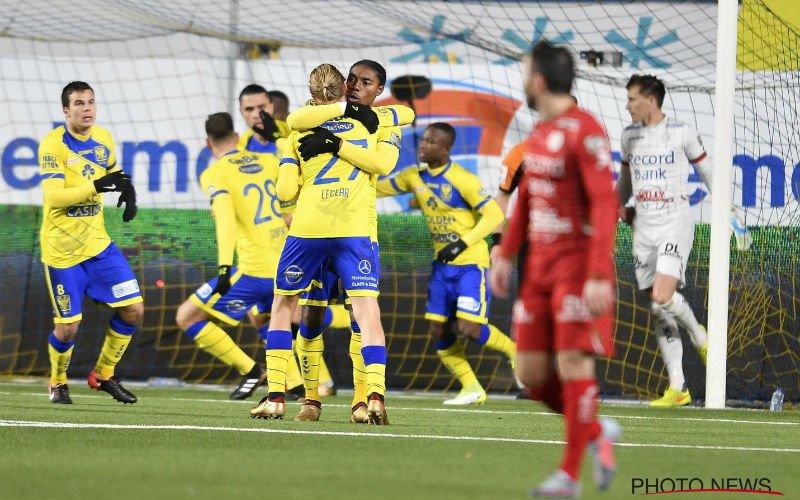 Zulte Waregem speelt uur tegen tienkoppig STVV, maar wint niet