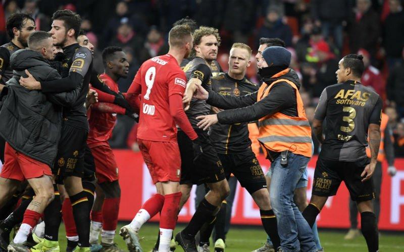 Herrie na Standard-KV Mechelen: spelers net niet met elkaar op de vuist