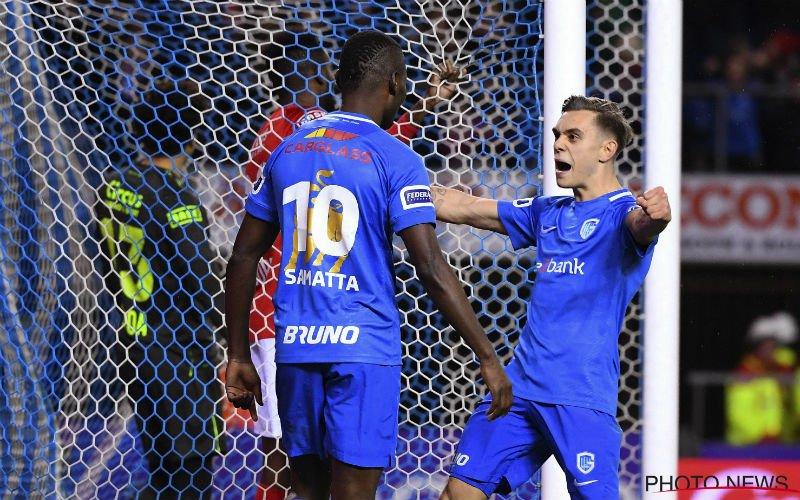 Samatta trapt sterk Genk voorbij Standard; Club volgt nu op 12 punten
