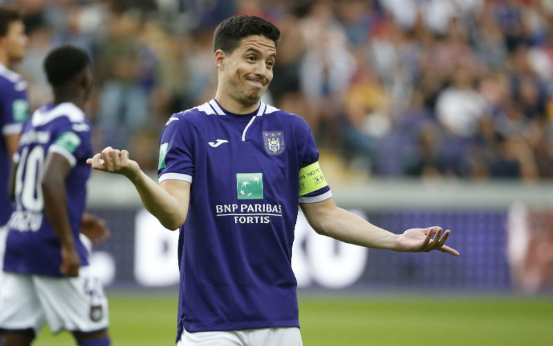 'Coucke grijpt in, Samir Nasri moet alweer vertrekken bij Anderlecht'