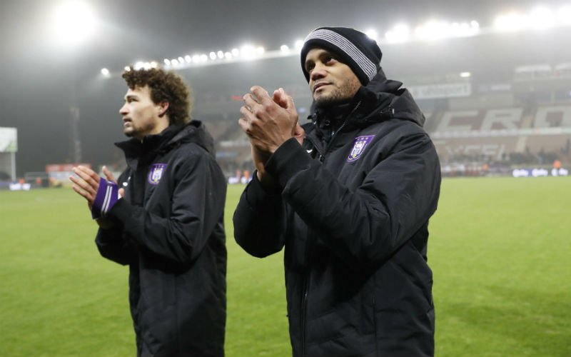 'Anderlecht verneemt verschrikkelijk nieuws over Kompany en Sandler'