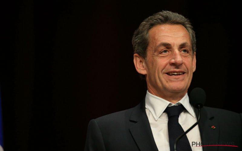 Nicolas Sarkozy vol lof over Rode Duivel:
