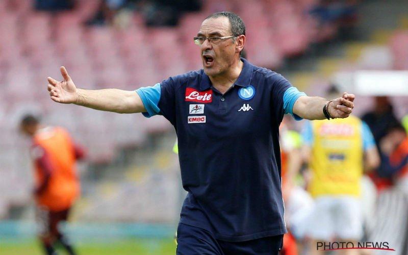 Maurizio Sarri is de nieuwe trainer van Chelsea