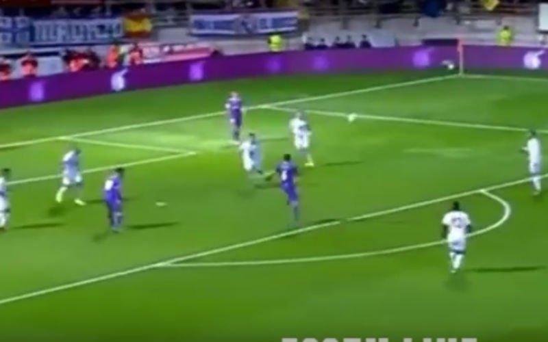 VIDEO: Speler van Real Madrid scoort onwaarschijnlijke goal
