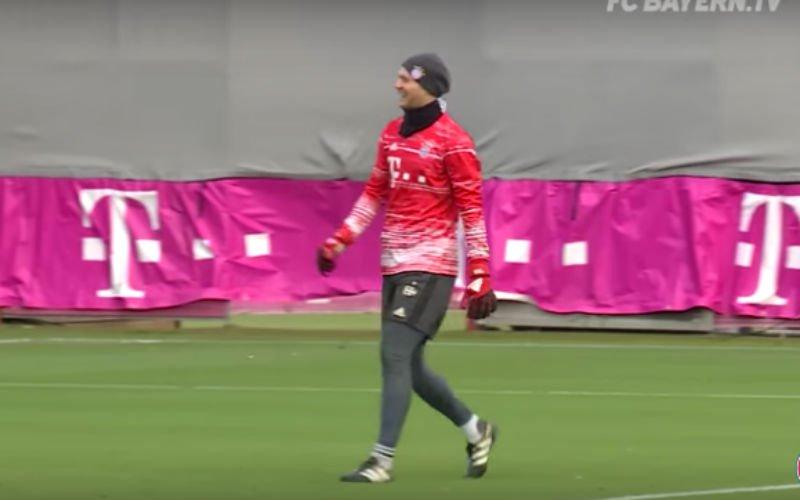 Neuer voor spits! Doelman van Bayern scoort een schitterende goal (Video)