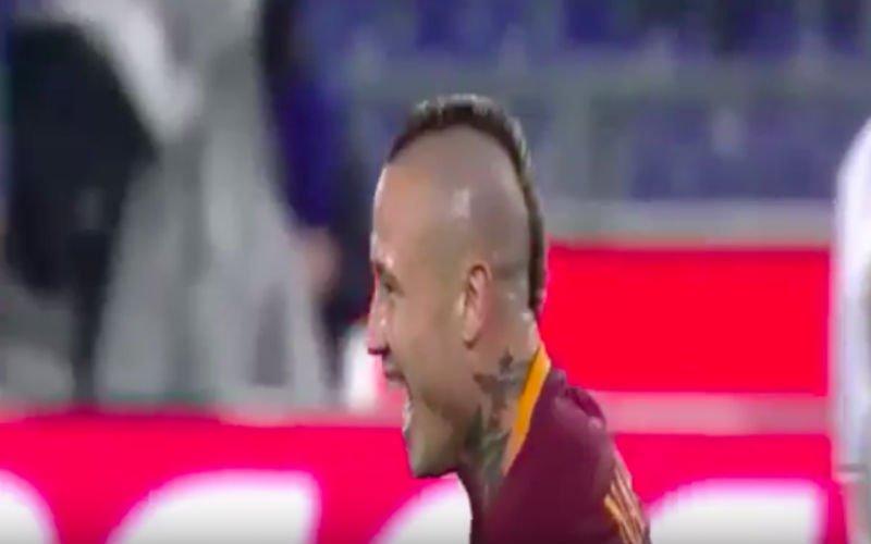 Nainggolan scoort belangrijk én prachtig doelpunt tegen AC Milan (Video)