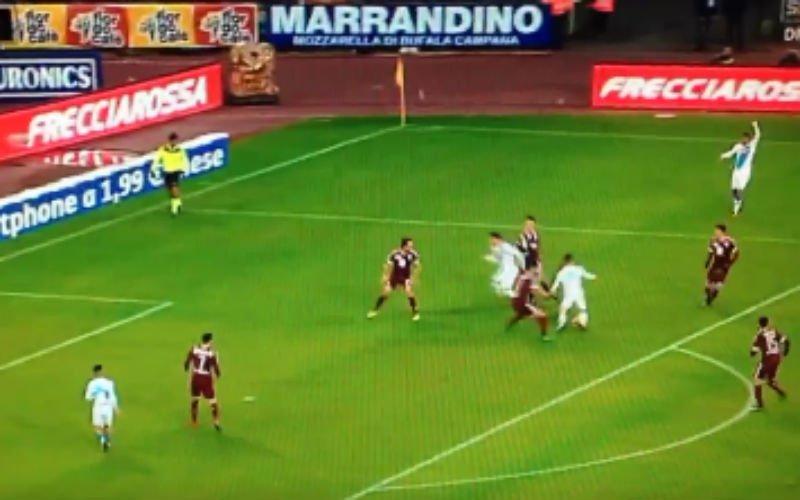 Ongelofelijk: Mertens scoorde op magistrale wijze zijn vierde goal tegen Torino (Video)
