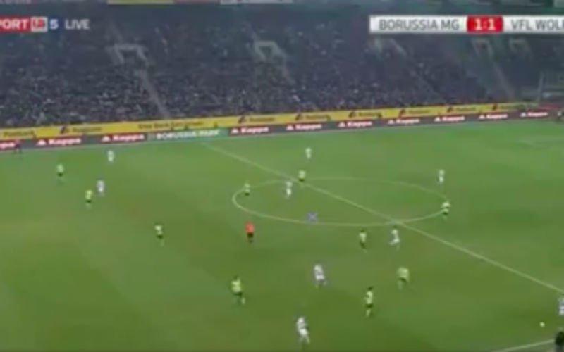 Hazard doet het allemaal zelf bij Mönchengladbach (Video)