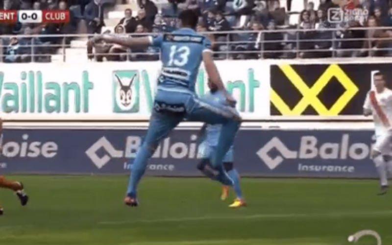 Club Brugge voelt zich zwaar bestolen tegen AA Gent (Video)