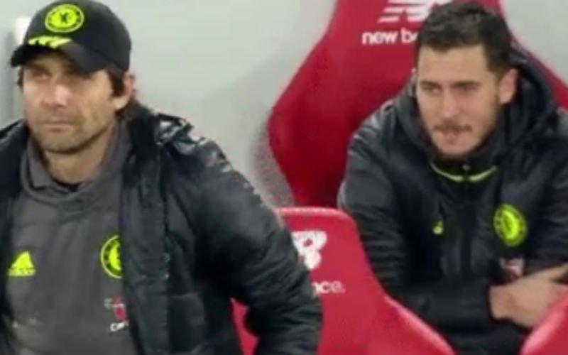 Hazard maakt Chelsea-fans razend met deze actie (Video)