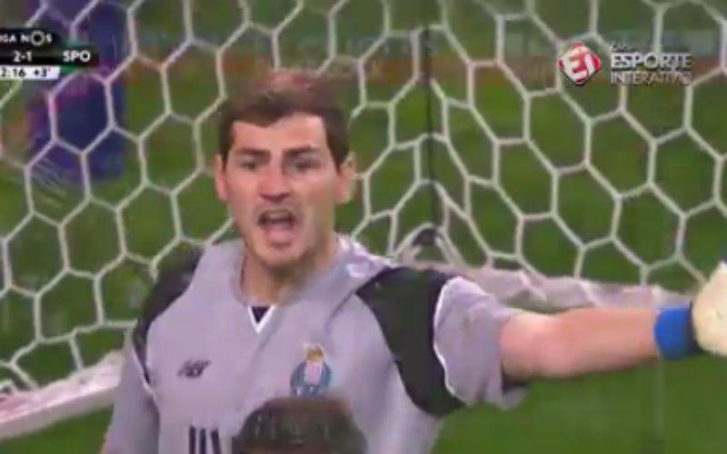 Mirakelredding van Casillas in slotminuten gaat de wereld rond (Video)