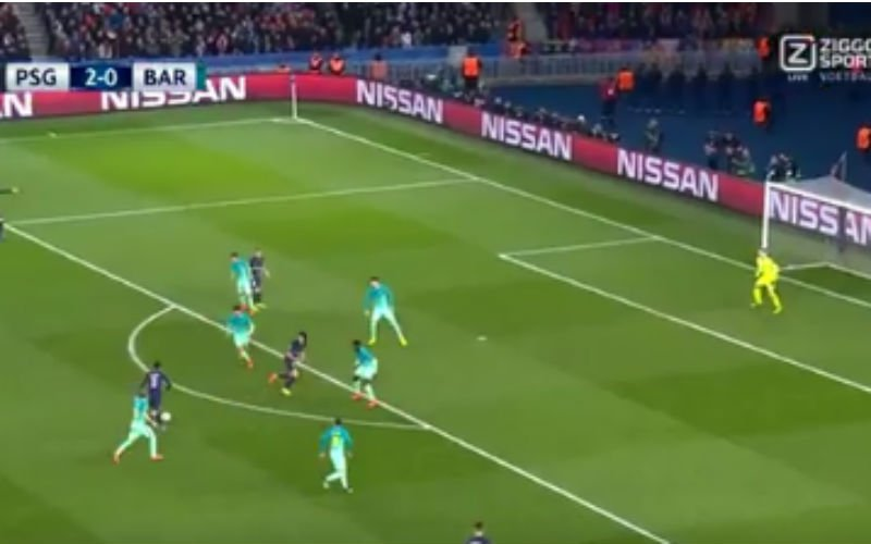 Barcelona wordt momenteel he-le-maal opgegeten door PSG (Video)