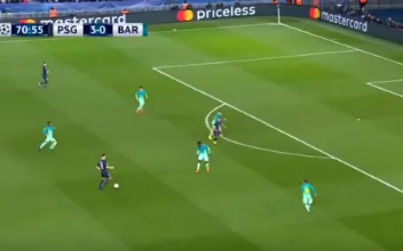 Met deze actie speelt Meunier Barcelona helemaal zoek (Video)