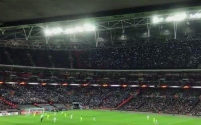 KIPPENVEL: Gent-fans zingen op Wembley Mia van Gorki (Video)