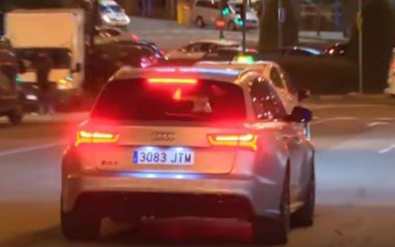 Ronaldo lapt alle verkeersregels aan zijn laars en dit is de reactie van de politie (Video)