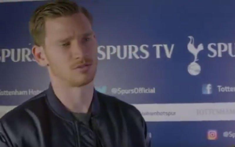 Jan Vertonghen doet het kortste interview ooit (Video)