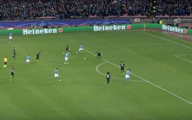 Dries Mertens doet het nu ook tegen Real Madrid (Video)