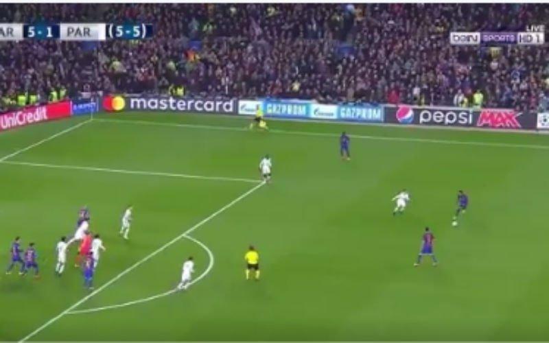 Op zo'n moment zo'n pass geven: Neymar is wereldklasse! (Video)