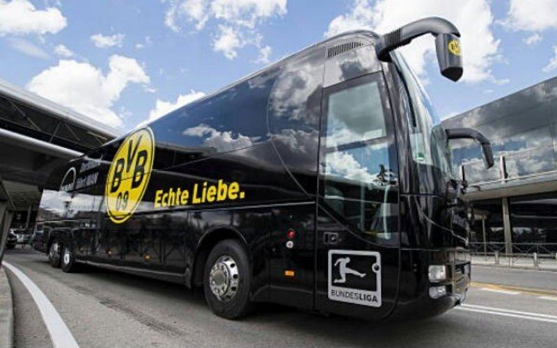 Drama: Ontploffing op spelersbus van Borussia Dortmund