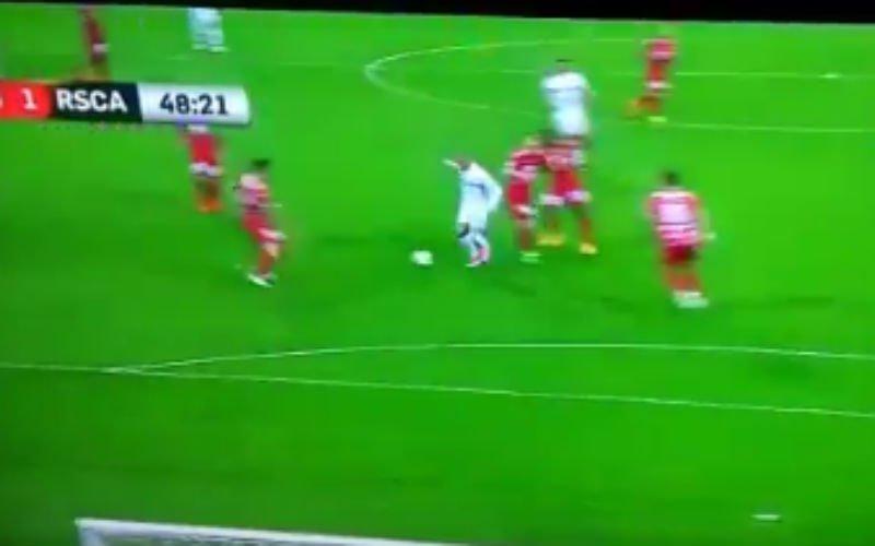 Sofiane Messi Hanni scoort wereldgoal tegen Oostende (Video)