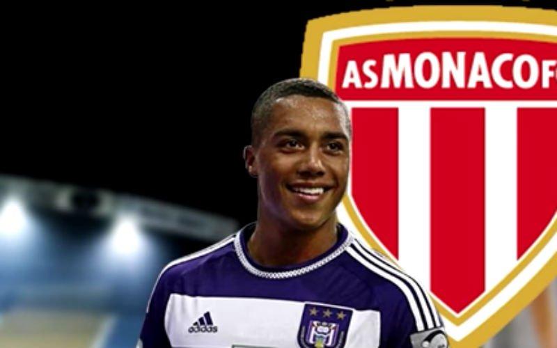 'Youri Tielemans verlaat Anderlecht voor AS Monaco'