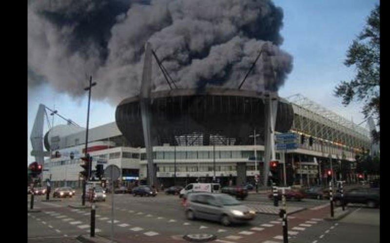 Vreselijke beelden van PSV - Ajax