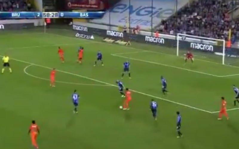 Club Brugge geveld door wereldgoal (Video)