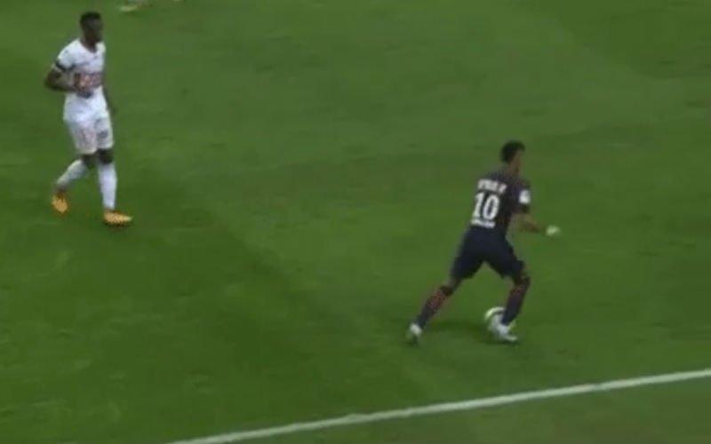 Neymar doet plots dit tegen Toulouse... (Video)