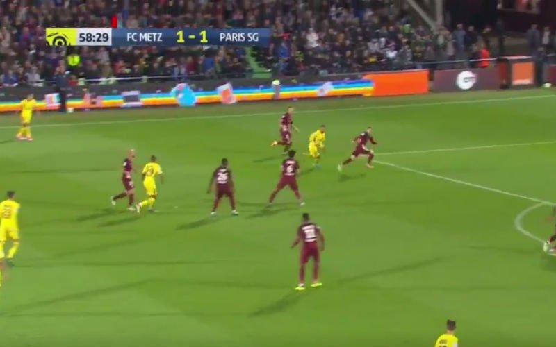 Mbappé schiet nu al raak voor PSG (Video)