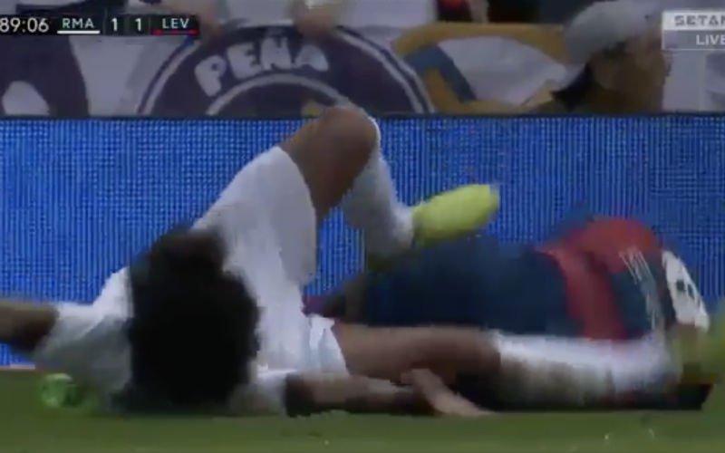 Megaschorsing voor Marcelo na schandalige trap? (Video)