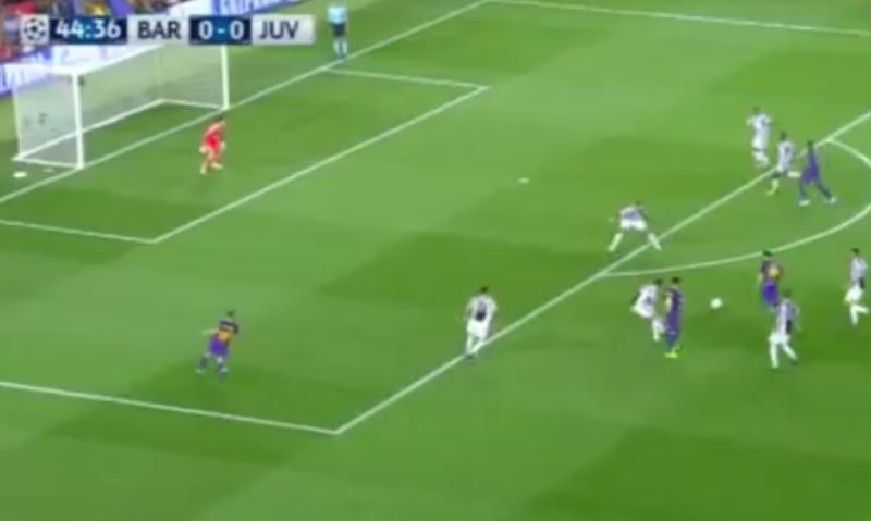 En dan doet Messi plots dit tegen Juventus (Video)