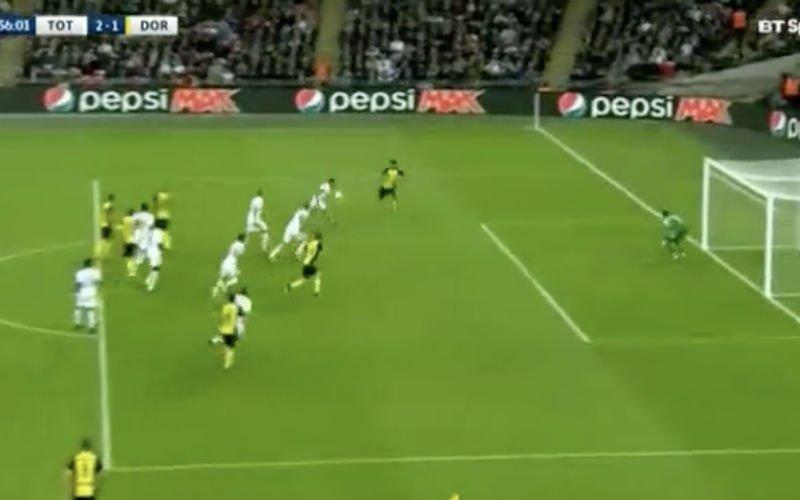 Aubameyang scoort prachtige goal en dan gebeurt dit... (Video)