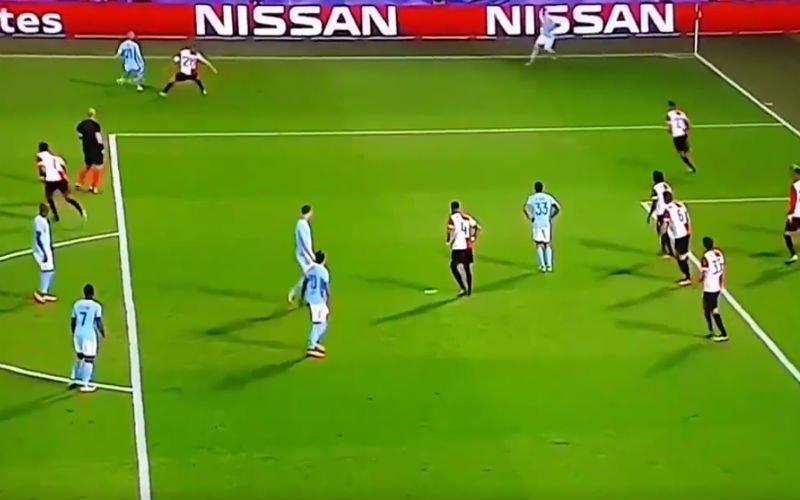 Kevin De Bruyne doet het ook op Feyenoord (Video)
