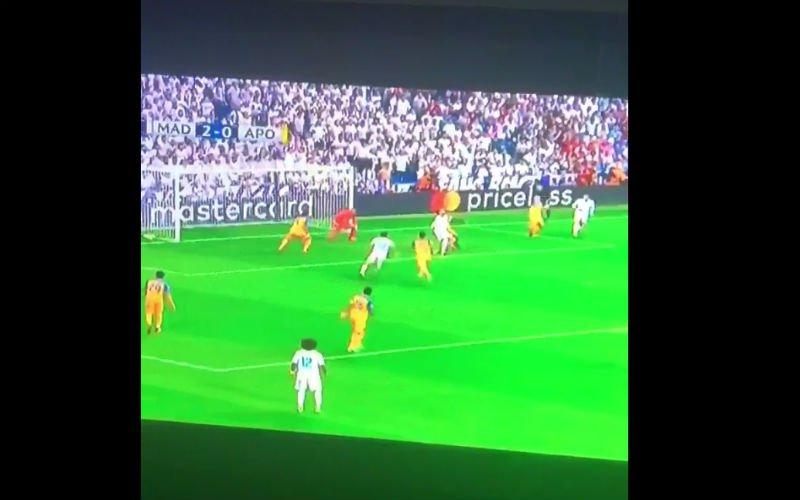 WOW! Zo scoort Sergio Ramos voor Real (Video)