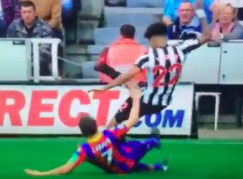 De vuilste tackle van het weekend, maar slechts geel in de Premier League (Video)