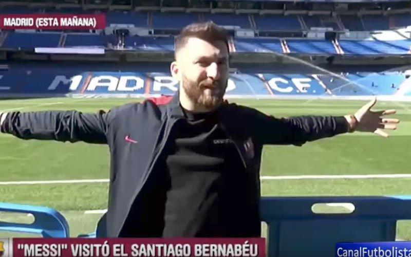 Real Madrid strikt 'Lionel Messi'