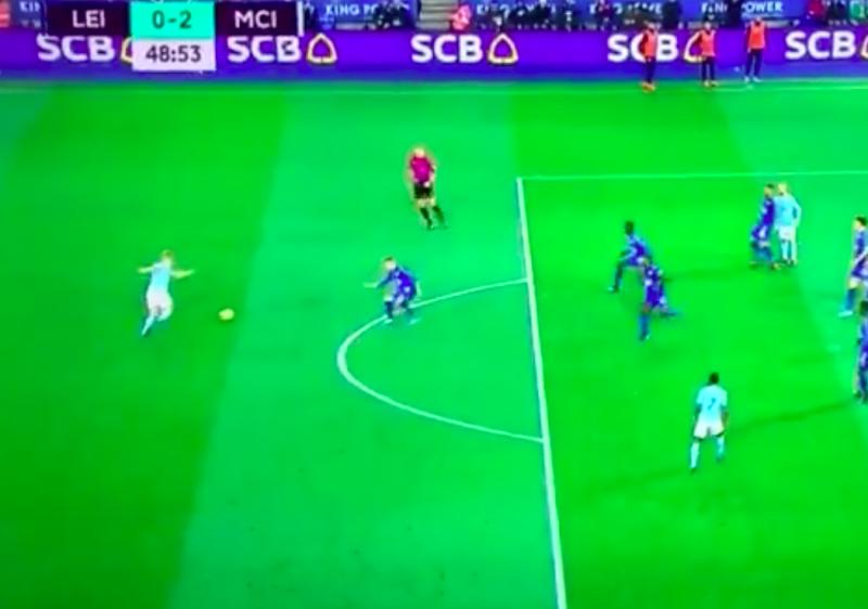BOEM! De Bruyne maakt fantastische goal! (Video)