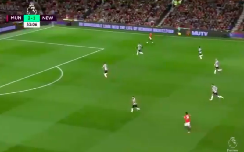 Niémand kan geloven wat Rashford hier deed (Video)