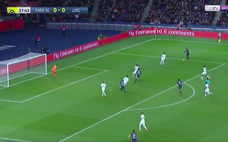 De klasse van Mbappé: een perfecte assist voor Di Maria (Video)