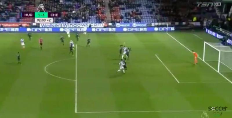 Beresterke Depoitre maakte fraaie goal tegen Courtois (Video)