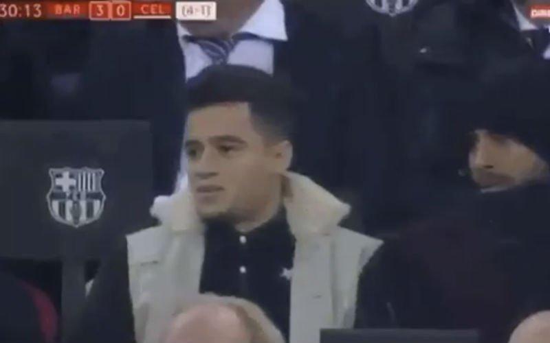 Op deze zalige manier reageerde Coutinho op demonstratie Messi (Video)