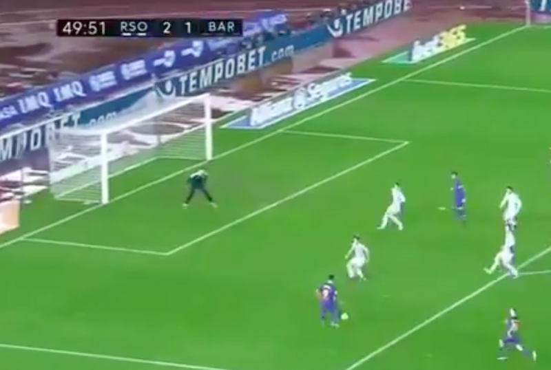 Straf! Goal van Suarez is exacte kopie van Eto'o (Video)