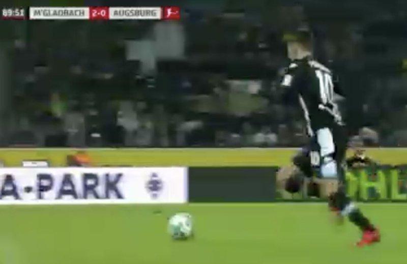 Ook Thorgan Hazard weet de goal staan vandaag (Video)