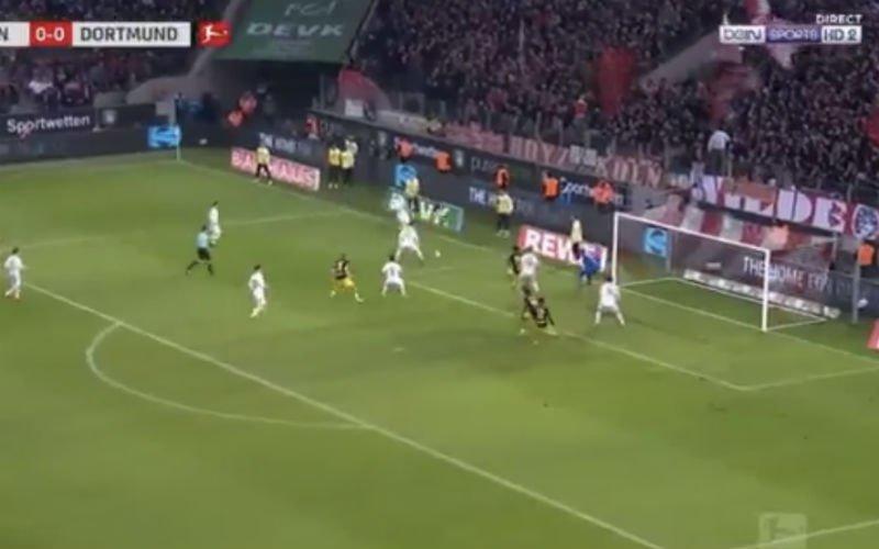 Daar is de eerste van Batshuayi al voor Dortmund (Video)